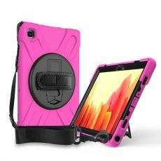 """LN suojakuori+kantohihna Galaxy Tab A7 10.4"""" Rose"""