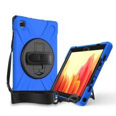 """LN suojakuori+kantohihna Galaxy Tab A7 10.4"""" Blue"""