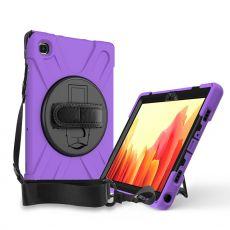 """LN suojakuori+kantohihna Galaxy Tab A7 10.4"""" Purple"""