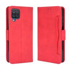 LN 5card Flip Wallet Galaxy A12 Red