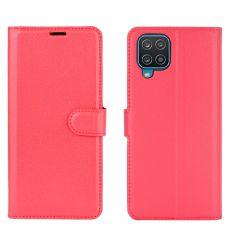 LN Flip Wallet Galaxy A12 Red