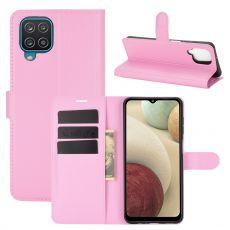 LN Flip Wallet Galaxy A12 Pink