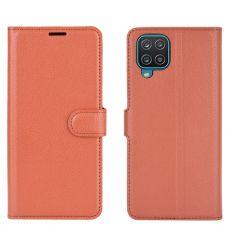 LN Flip Wallet Galaxy A12 Brown
