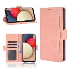 LN Flip Wallet 5card Galaxy A02s/A03s pink