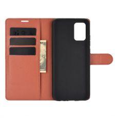 LN Flip Wallet Galaxy A02s/A03s brown