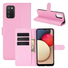 LN Flip Wallet Galaxy A02s/A03s pink