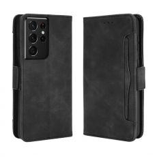 LN 5card Flip Wallet Samsung Galaxy S21 Ultra Black