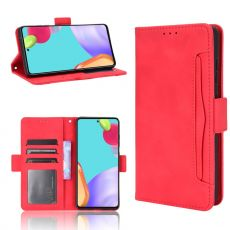 LN 5card Flip Wallet Galaxy A72/A72 5G red