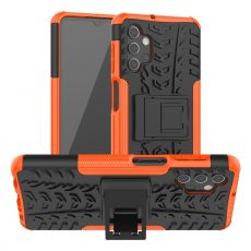 LN kuori tuella Galaxy A32 5G orange