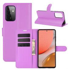 LN suojalaukku Galaxy A72/A72 5G purple