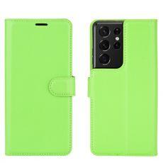 LN suojalaukku Samsung Galaxy S21 Ultra Green