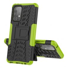 LN kuori tuella Galaxy A52/A52 5G/A52s 5G green