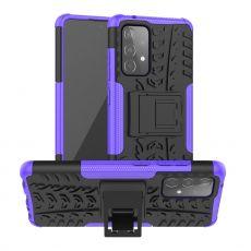 LN kuori tuella Galaxy A52/A52 5G/A52s 5G purple