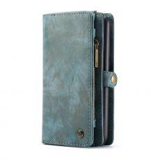 CaseMe 2in1 lompakko 11 card Galaxy A72/A72 5G blue