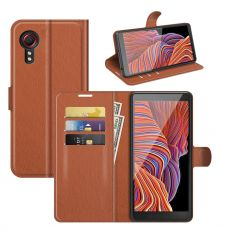 LN suojalaukku Galaxy XCover 5 brown