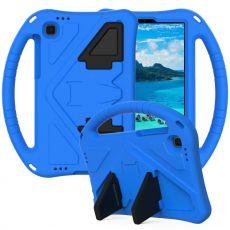 LN suojakuori kantokahvalla Galaxy Tab A7 Lite blue