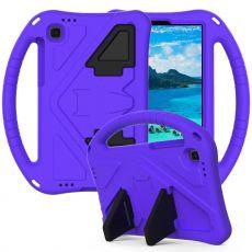 LN suojakuori kantokahvalla Galaxy Tab A7 Lite purple