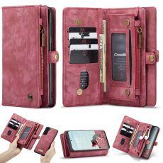CaseMe 2in1 11card Galaxy S21 FE red