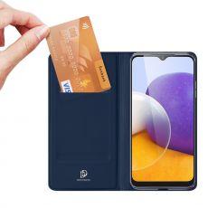 Dux Ducis Business-kotelo Galaxy A22 5G blue