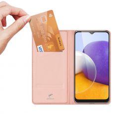 Dux Ducis Business-kotelo Galaxy A22 5G pink