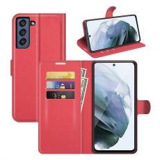 LN Flip Wallet Galaxy S21 FE red