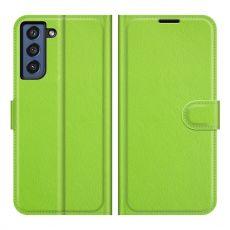 LN Flip Wallet Galaxy S21 FE green