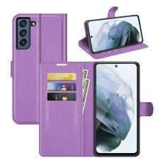 LN Flip Wallet Galaxy S21 FE purple