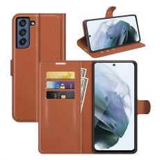 LN Flip Wallet Galaxy S21 FE brown
