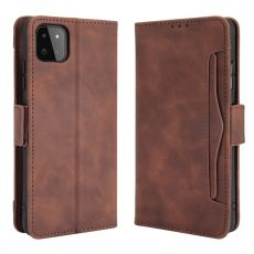 LN 5card flip wallet Galaxy A22 5G brown