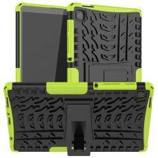 LN suojakuori tuella Galaxy Tab A7 Lite green