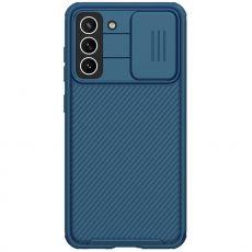 Nillkin CamShield Armor Galaxy S21 FE blue
