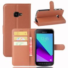 LN Flip Wallet Galaxy Xcover 4S Brown