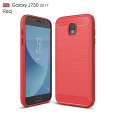 Luurinetti Samsung Galaxy J7 2017 TPU-suoja red