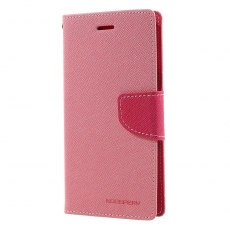 Goospery Galaxy J5 2017 Fancy-laukku pink/red