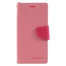 Goospery Xperia XZ1 Fancy-laukku pink-red