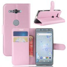 Luurinetti Xperia XZ2 Compact suojalaukku pink