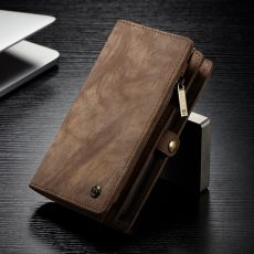 CaseMe 2in1 lompakko 11 card Xperia XZ2 brown