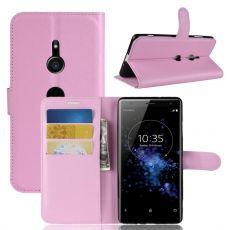 Luurinetti Flip Wallet Sony Xperia XZ3 pink