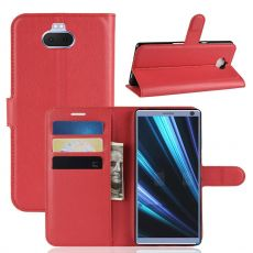 Luurinetti Flip Wallet Xperia 10 Plus red