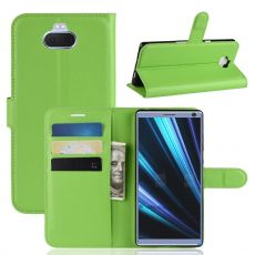 Luurinetti Flip Wallet Xperia 10 Plus green