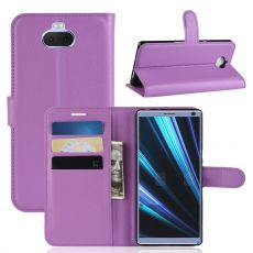Luurinetti Flip Wallet Xperia 10 Plus purple