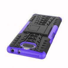 Luurinetti kuori tuella Xperia 10 purple