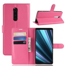 Luurinetti Flip Wallet Sony Xperia 1 rose
