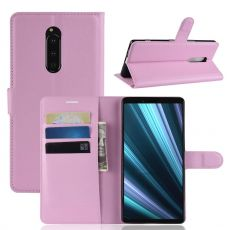 Luurinetti Flip Wallet Sony Xperia 1 pink