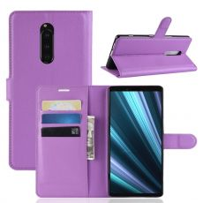 Luurinetti Flip Wallet Sony Xperia 1 purple