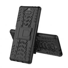 Luurinetti kuori tuella Xperia 10 Plus black