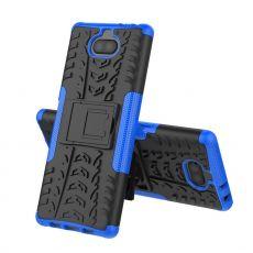 Luurinetti kuori tuella Xperia 10 Plus blue