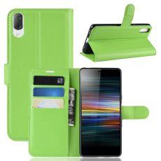 Luurinetti Flip Wallet Sony Xperia L3 green