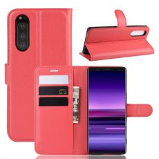 Luurinetti Flip Wallet Sony Xperia 5 red