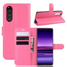 Luurinetti Flip Wallet Sony Xperia 5 rose